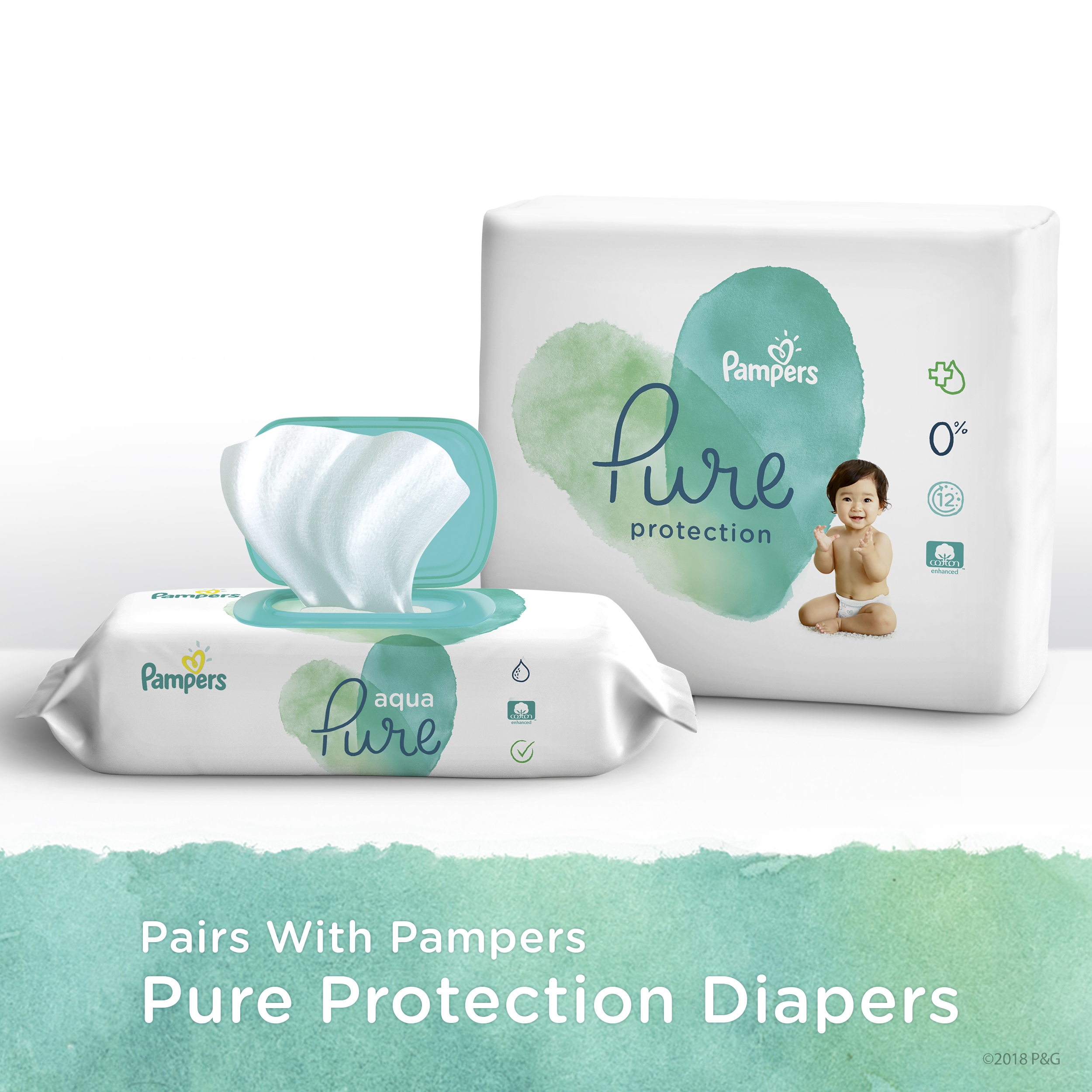 Pairs with Pampers - Oure Protection Diapers