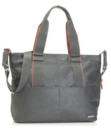 Storksak Grey Eden Diaper Bag