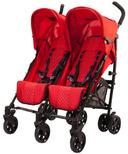 Guzzie & Guss Twice Double Umbrella Stroller Red