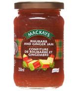 Mackays Rhubarb & Ginger Jam