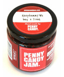 Penny Candy Jam Preserved Fruit Jam Raspberry, Bay and Lime