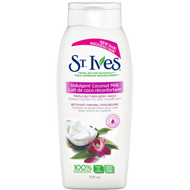 St. Ives Triple Butter Creamy Coconut Body Wash