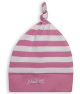 Juddlies Newborn Cap Sachet Pink Stripe