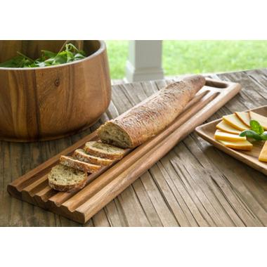 Ironwood Gourmet Sweep Off Baguette Board