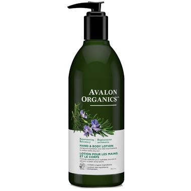 Avalon Organics Rosemary Hand & Body Lotion