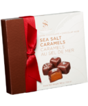 Saxon Chocolates Dark Chocolate Fleur De Sel Caramel Gift box