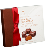 Saxon Chocolates Dark Chocolate Fleur De Sel Caramel Gift box
