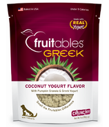 Fruitables Crunch Dog Treats Greek Coconut Yogurt