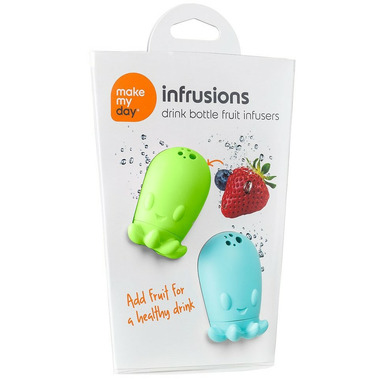 Make My Day Silicone Drink Bottle Fruit Infuser
