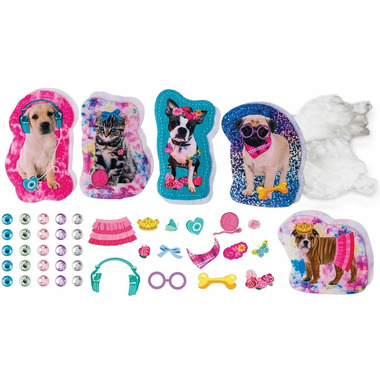 Sew Cool Character Kit Puppies