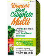 Webber Naturals Women's Most Complete Multi