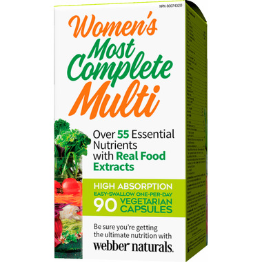 Webber Naturals Women\'s Most Complete Multi