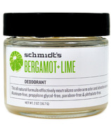 Schmidt's Deodorant Bergamot & Lime Deodorant Jar