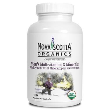 Nova Scotia Organics Men\'s Multivitamins & Minerals