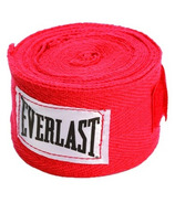 Everlast 108 inch Hand Wraps Red