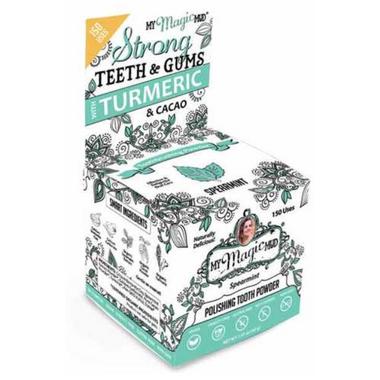 My Magic Mud Turmeric & Cacao Polishing Tooth Powder Spearmint
