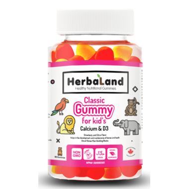 Herbaland Kid\'s Gummy Calcium with D3