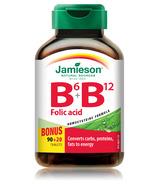 Jamieson B6 B12 Folic Acid Bonus Pack