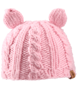 Bedford Road Pink Knitted Hat With Ears