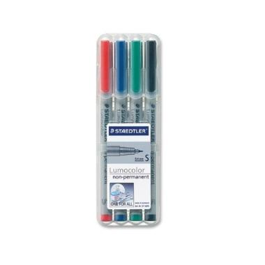 Staedtler Lumocolour Superfine Fibre-Tip Ink Pens