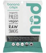Nud Fud Spirulina Banana Crisps Snack Pack