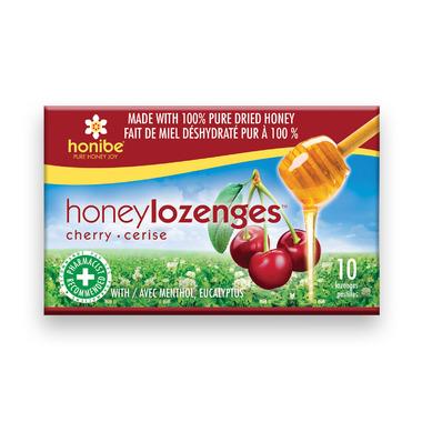 Honibe Honey Lozenges with Cherry