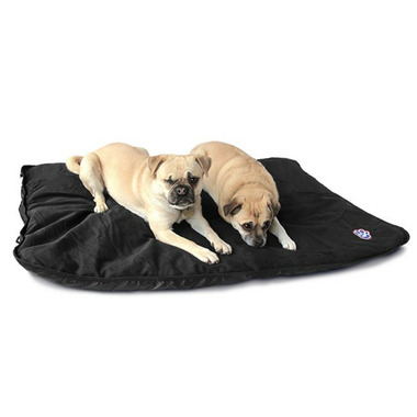 Canada Pooch Rugged Rest Travel Bed Large in Black