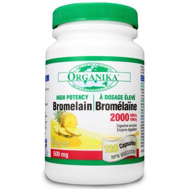 Organika High Potency Bromelain