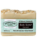 Living Clay Co. Unscented Bar Soap