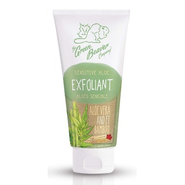 Green Beaver Grapefruit Bamboo Facial Scrub