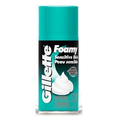 Gillette Foamy Sensitive Shaving Cream