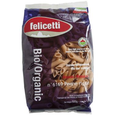 Felicetti Organic Whole Wheat Penne Rigate