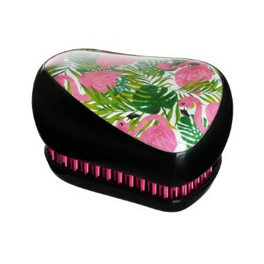 Tangle Teezer Compact Styler Detangling Hairbrush Skinny Dip Palm