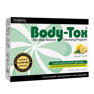 Healistic Planet Body-Tox One-Step Natural Cleansing Program