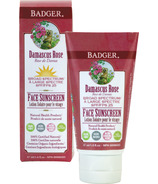 Badger Rose Face Sunscreen
