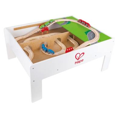 Hape Toys Reversible Train Storage Table