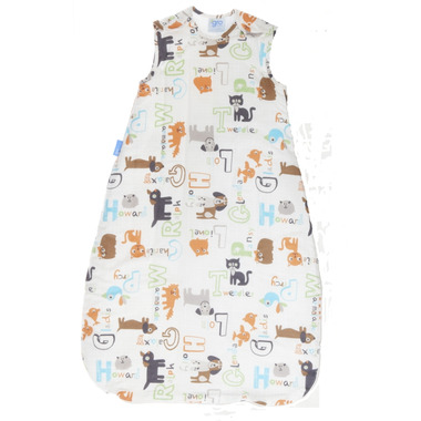 Grobag Travel Baby Sleep Bag in Alphapets Print