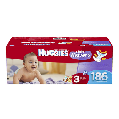 Huggies Little Movers Economy Plus