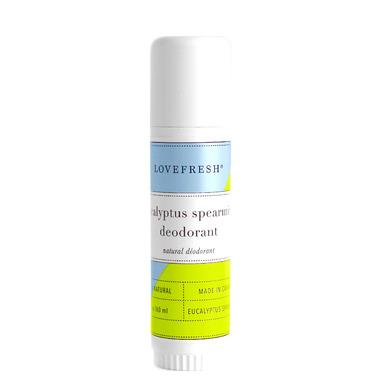 LOVEFRESH Eucalyptus Spearmint Natural Cream Deodorant Travel Stick