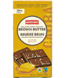 Alter Eco Dark Organic Chocolate Brown Butter Salted