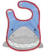 Skip Hop Zoo Bibs Tuck-Away Bib Shark