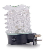 Finesse Home Finesse White Stack Plug In Lamp