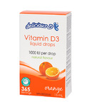 Delicious D Orange Vitamin D3 Liquid Drops