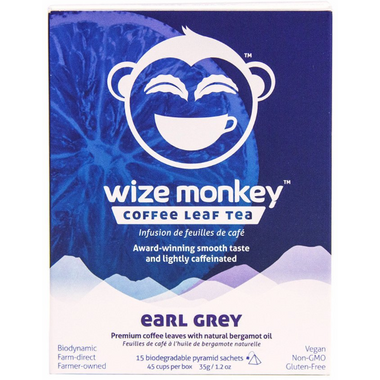 Wize Monkey Coffee Leaf Tea Earl Grey
