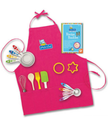 Mindware Playful Chef Baking Set With Pink Apron