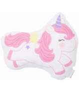 A Little Lovely Company Jumping Unicorn Cushion