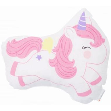 A Little Lovely Company Jumping Unicorn Cushion