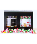 papabubble Exclusive Handcrafted Candies Holiday Jars
