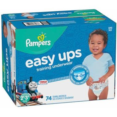 Pampers Easy Ups Training Underwear Thomas & Friends