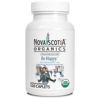 Nova Scotia Organics Be Happy Tablets